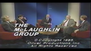 The McLaughlin Group - July 20, 1985