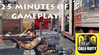 Call Of Duty Mobile 25 Minutes of Gameplay on iOS