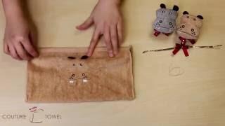 Towel Folding | How to Fold Towel Origami: Hippos