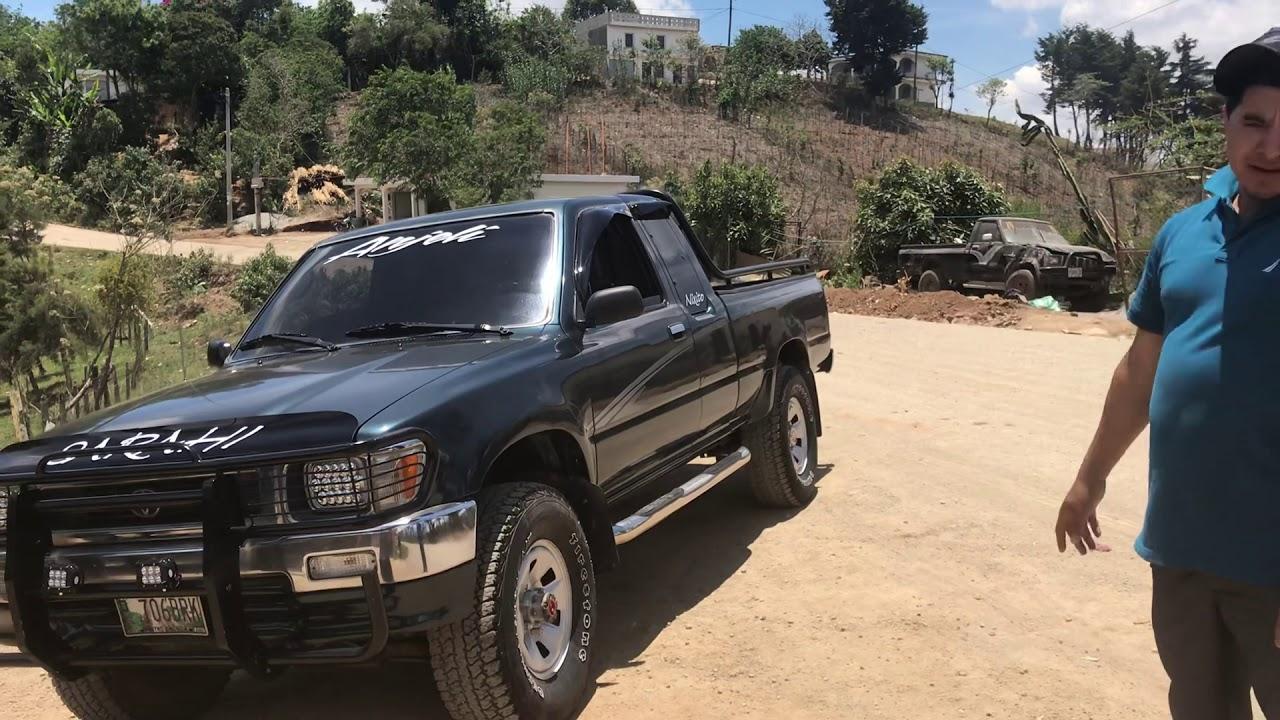 Toyota 22r 94 Son Perseguidos Por Los Ladrones En Guatemala Youtube