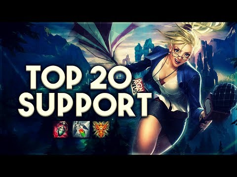 Top 20 SUPPORT Plays #04 | League of Legends