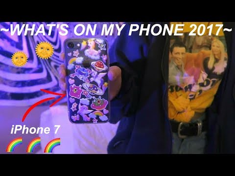 Thumbnail: WHAT'S ON MY IPHONE 7