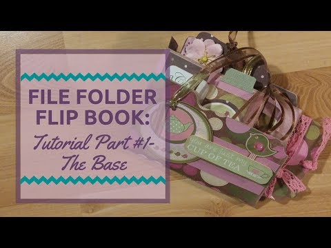 File folder Flipbook tutorial #1: The Base