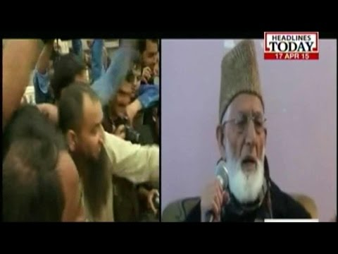 Masarat Alam's Arrest: Geelani Calls For Bandh In Valley