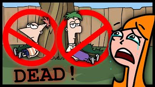Phineas and Ferb were only Candace Imagination!! | #PhineasAndFerb Theory Animation Parody