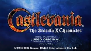 Como desbloquear Castlevania Rondo of Blood en Dracula X Chronicles
