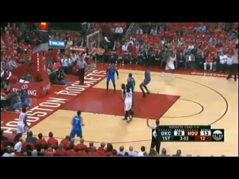 Houston Rockets vs Oklahoma City Thunder  - Game 2 - First Quarter Highlights