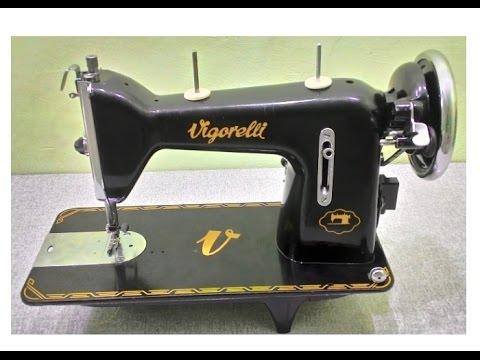 5d972712d Aula de manuseio máquina de costura Vigorelli costura reta - YouTube