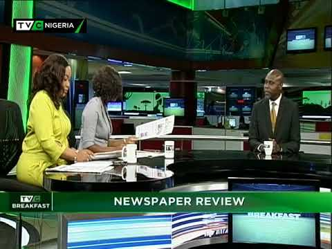 TVC Breakfast 9th May, 2018 | Newspaper Review
