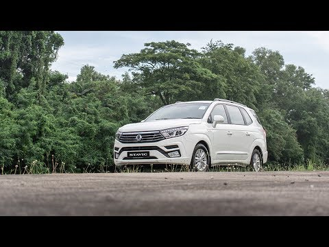 SGCM drives the new Ssangyong Stavic Diesel