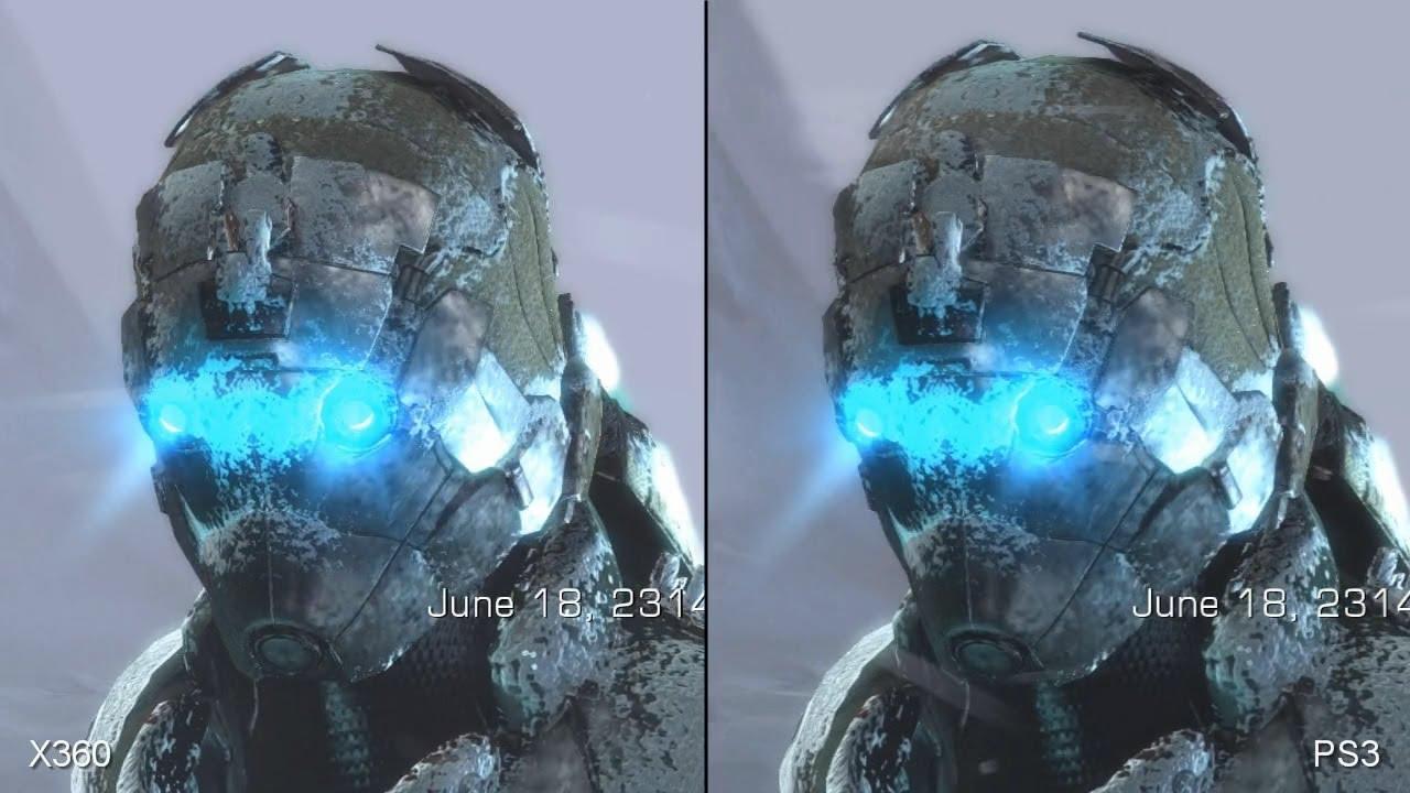 Dead Space 3 Xbox 360 vs  PS3 Comparison Video - YouTube