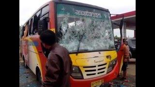 Bentrok Suporter Surabaya United Vs Aremania Di Sragen
