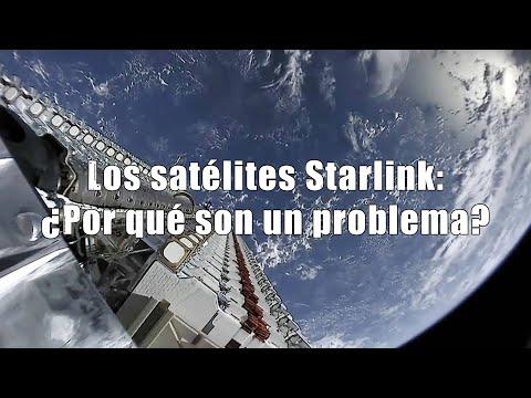 Los satélites Starlink: Cómo verlos y... ¿por qué son un problema?