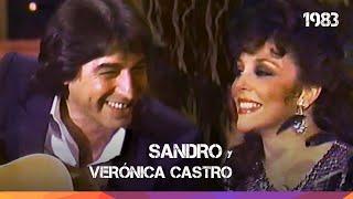 Sandro y Verónica Castro juntos - Miami - 1983