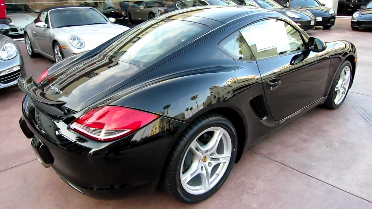 2009 porsche cayman pdk black on beige for sale at beverly hills porsche youtube. Black Bedroom Furniture Sets. Home Design Ideas