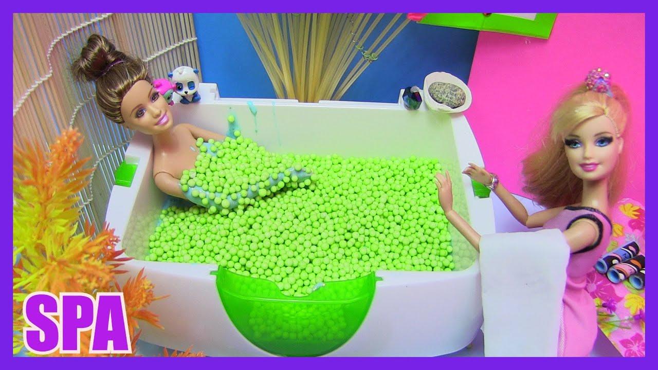 Barbie Slime Spa Foam Slime Bath By Rainbow Collector