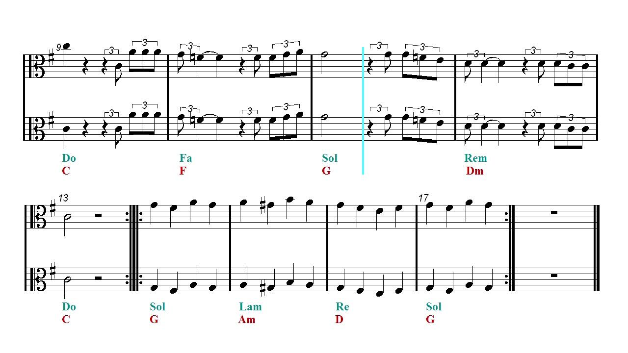 Viola - Happy Xmas - John Lennon - Christmas Song (Sheet music ...