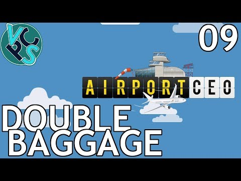 Double Baggage : Airport CEO EP09 - Airport Management Tycoon Gameplay