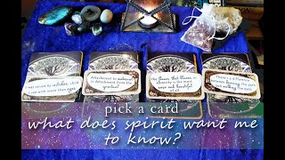 ⭐ Pick a Card ⭐ What Do Spirit Guides Want You To Know?