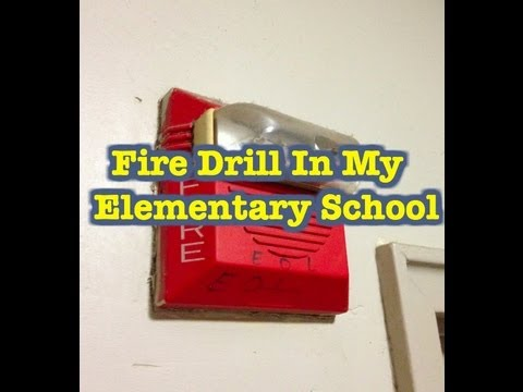 Fire Alarm Going Off In Elementary School Youtube