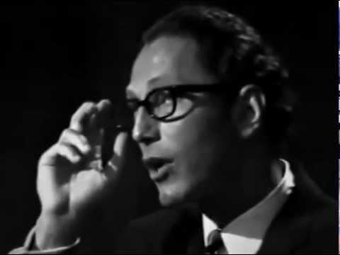 Tom Lehrer - Smut - LIVE FILM From Copenhagen in 1967