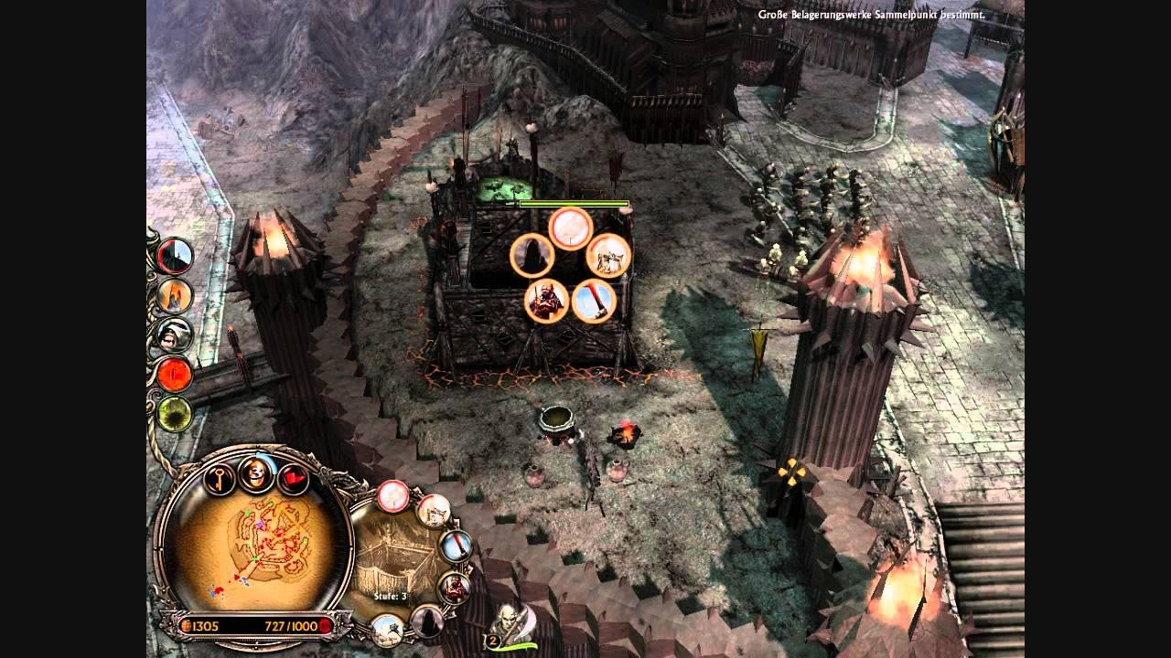Let S Play Schlacht Um Mittelerde 2 Aufstieg Des Hexenkonigs 3 Mordors Taktik Viele Orks Youtube