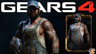 "Gears of War 4 - ""Big Rig Dizzy"" Character Multiplayer Gameplay! (Big Rig Dizzy DLC)"