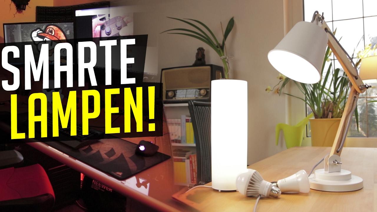 schicke e27 lampen f r philips hue co youtube. Black Bedroom Furniture Sets. Home Design Ideas
