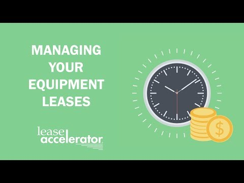 Equipment Lease Management