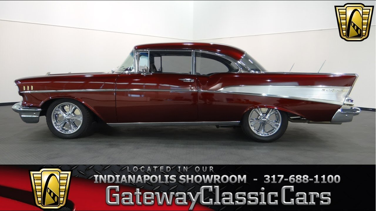 1956 chevrolet bel air custom flat red paint youtube - 1957 Chevrolet Bel Air Gateway Classic Cars Indianapolis 590 Ndy Youtube