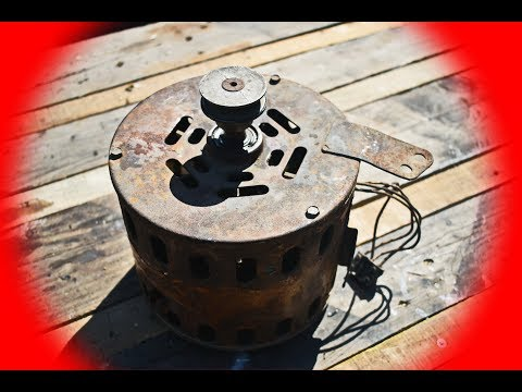 DO NOT THROW THE OLD WASHING MACHINE MOTOR IN THE TRASH / DIY GRASS CUTTER MACHINE