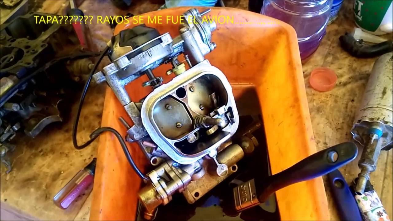 Toyota Of Plano >> Mantenimiento carburador de toyota 22r - YouTube