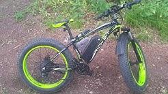 Richbit RT-012 1000w 48v 17Ah ebike snowbike fatbike review part 2