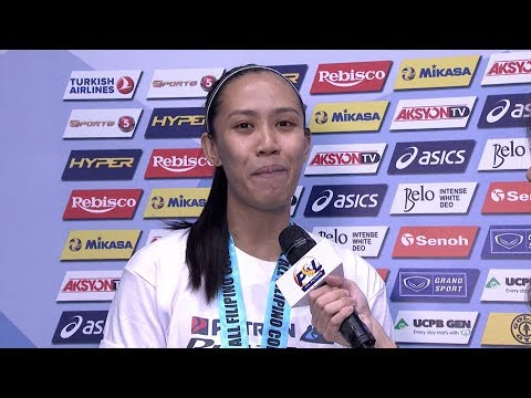 All Filipino Cup Most Valuable Player: Aiza Maizo-Pontillas | PSL All-Filipino Conference 2017