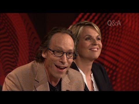 Lawrence Krauss vs Christians on Q&A - Amazing Debate