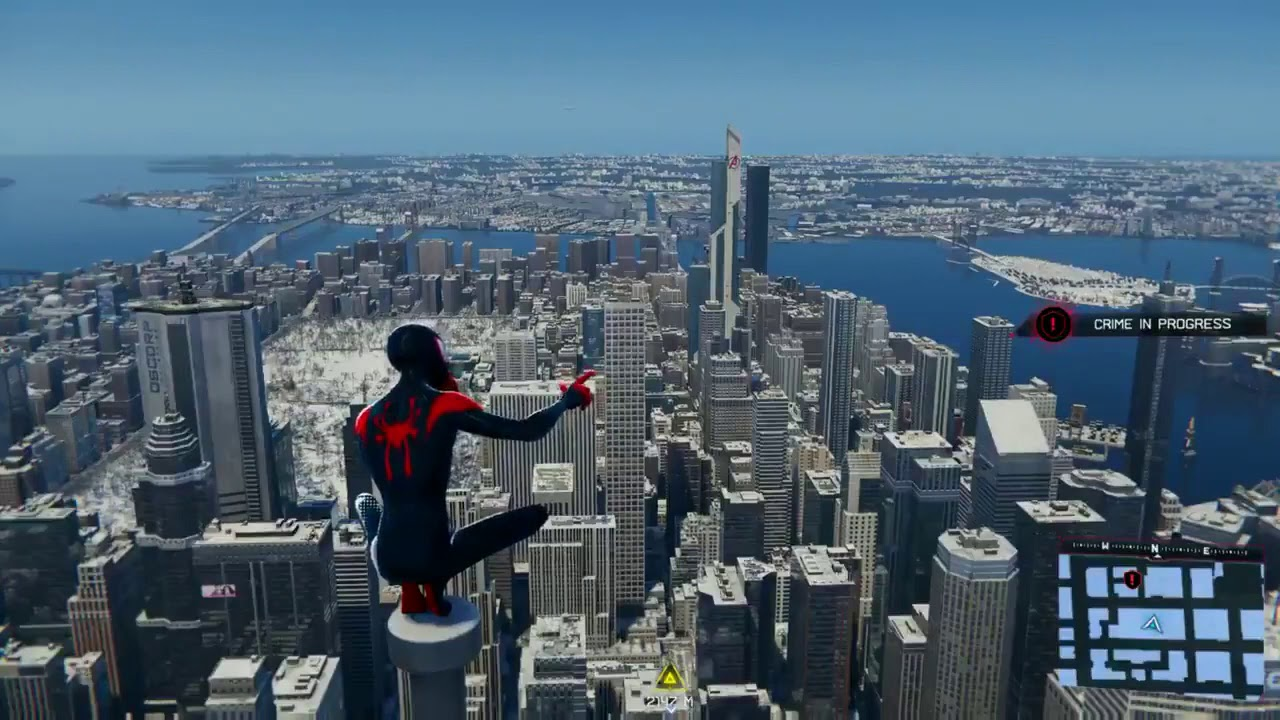 Jumping From Empire State building || Spiderman Miles Morales ||