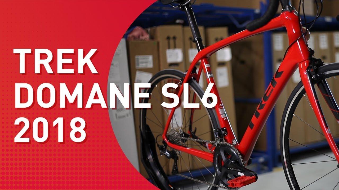 Trek Domane SL 6 - 2018 - Rennrad