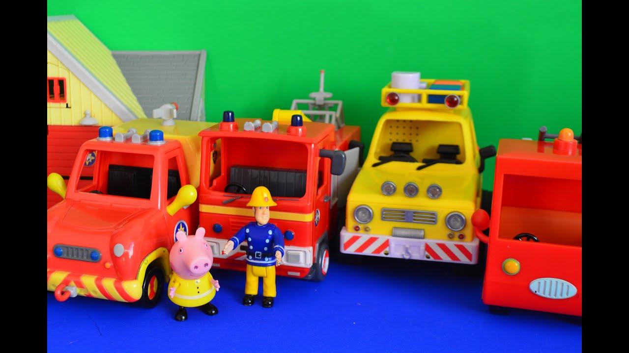 Fireman Sam Episode Pontypandy Jupiter Venus 4x4 peppa