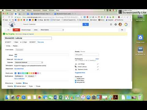 Mark Attendee As Optional On Google Calendar Invite