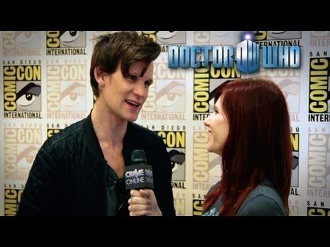 DOCTOR WHO Series 7 Exclusive Interviews (Smith, Karen, Arthur & Producers) Comic-Con 2012
