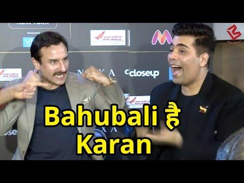 Saif Ali Khan ने Karan Johar को बताया  'Baahubali'  IIFA Awards