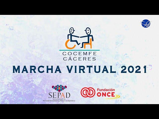 COCEMFE Cáceres - Marcha Virtual 2021