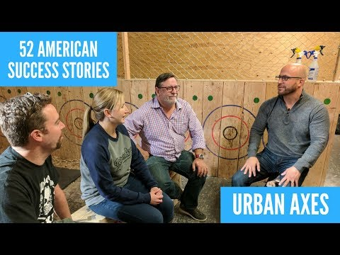 Axes, Beer, And Business | 52 American Success Stories ft. Urban Axes