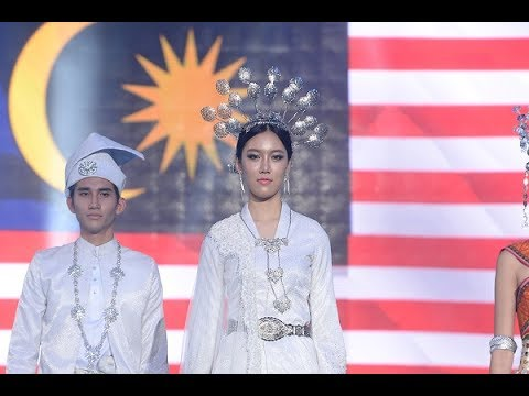 2017 Face of Asia Traditional Fashion Show - MALAYSIA -