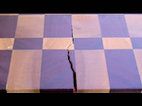 124 How To Fix A Cracked Or Split Cutting Board Youtube