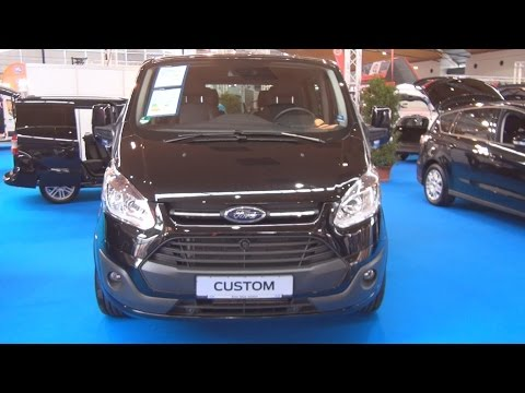 Ford Tourneo Custom Westfalia 2.2 Duratorq 155 hp (2016) Exterior and Interior in 3D