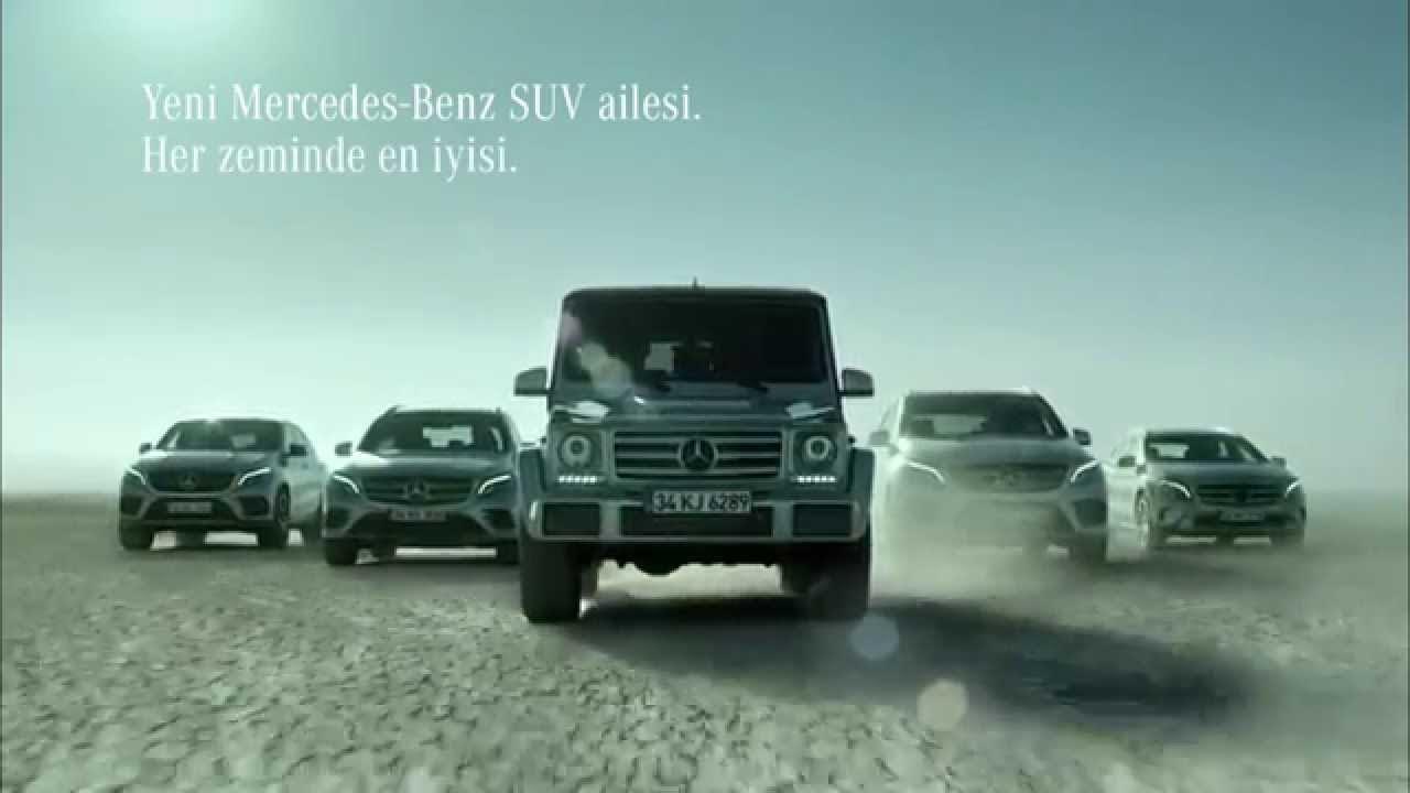 Mercedes-Benz Türkiye - SUV Ailesi - Özgün Müzik ve Seslendirme
