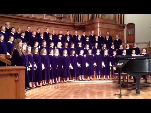 St. Olaf Choir - Abide With Me