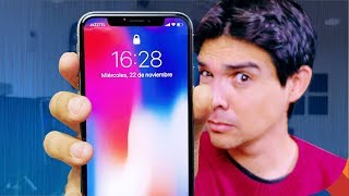 DURAS PRUEBAS del iPHONE X