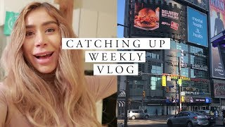 CATCHING UP | January Weekly Vlog in Toronto
